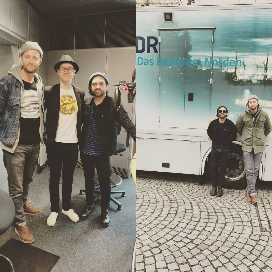Just wrapped up a fun interview with very cool/nice Matthias Köppinghoff of at @ndr2. Listen for it Wednesday night. Thanks for having us