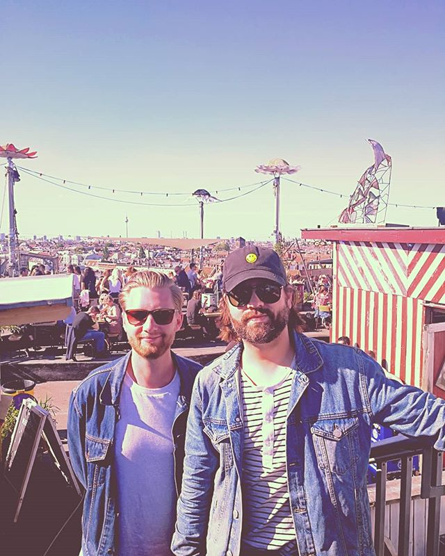Off day in and we are loving the rooftop party vibe. We rock the party at @lidoberlin tomorrow night with our boys @steamingsatellites come say hi