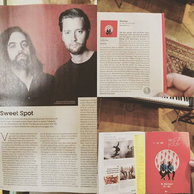 thank you @visionsmagazin 🌹 make sure you pick up a copy for yourself at the Kiosk in your Kiez.  @cloudshillmusic @warnermusic.de ✌️🖤